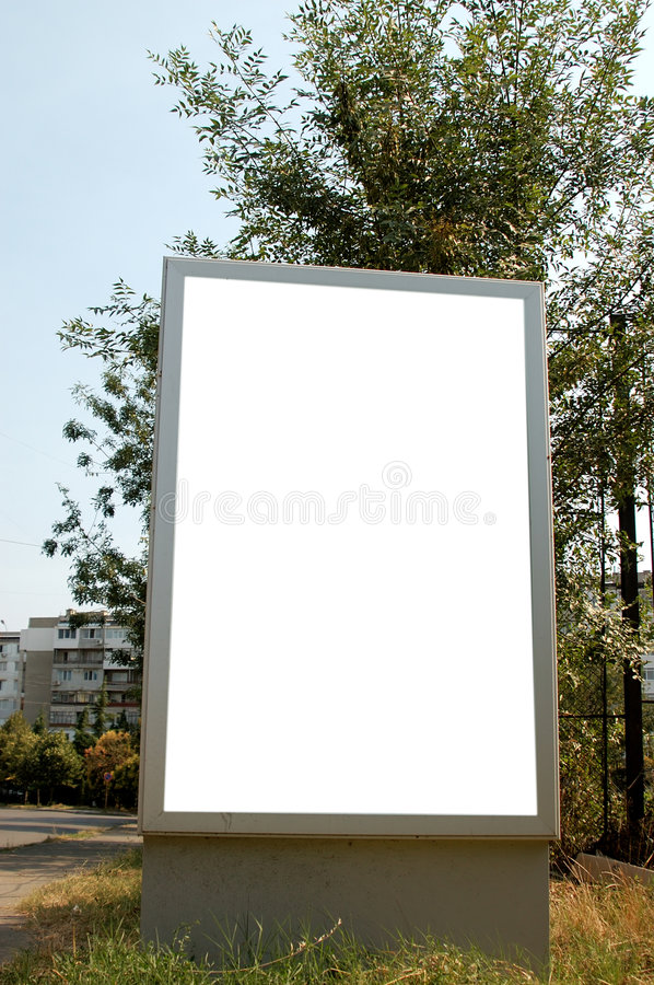 Download Blank frame stock image. Image of marketing, blank, advertisement - 6160963