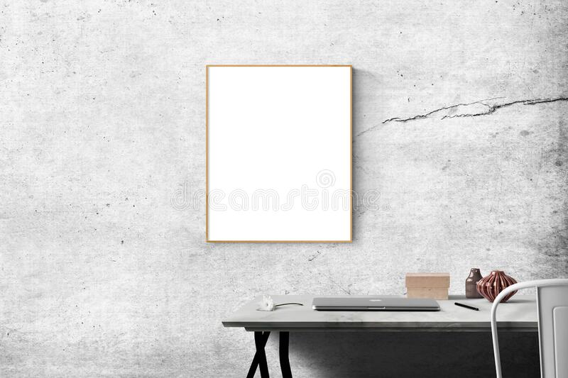 Blank Frame Above Table Free Public Domain Cc0 Image