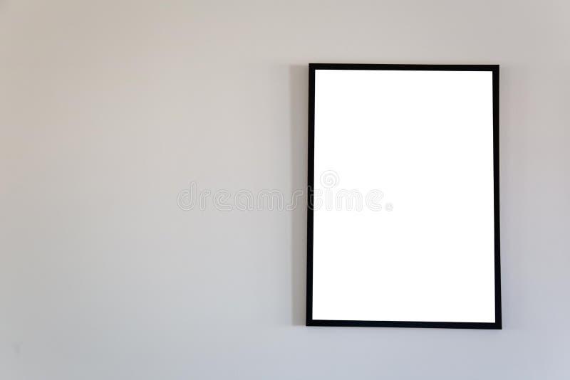 Blank frame mock up. stock image