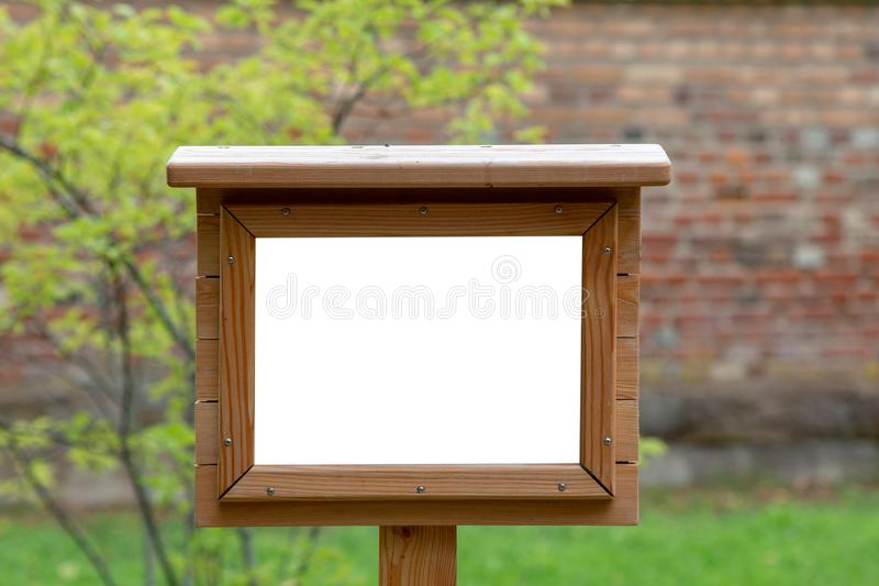 Blank frame mock up. royalty free stock photo