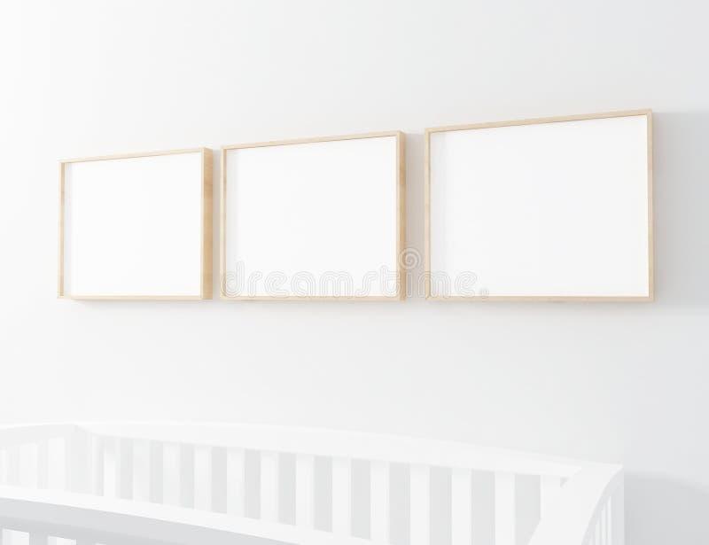 Wood Frame Mockup Framed Art 8x10 Frame Mockup Artwork Mockup Empty Frame Mockup Nursery Frame Mockup