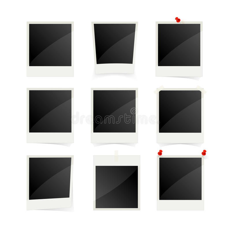 blank frames photo διανυσματική απεικόνιση