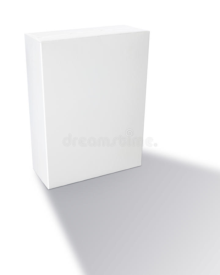 Blank Generic Cereal Box stock photography