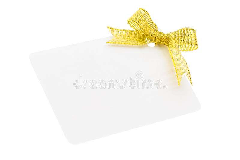 Blank gift tag
