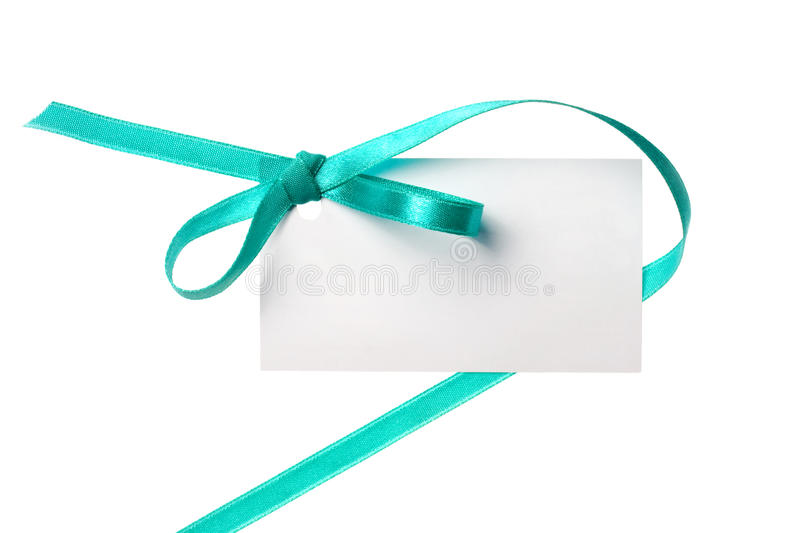 Blank gift royalty free stock image