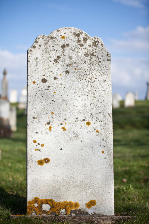 Download Blank Grave Stone stock image. Image of rock, moss, gravestone - 24404855