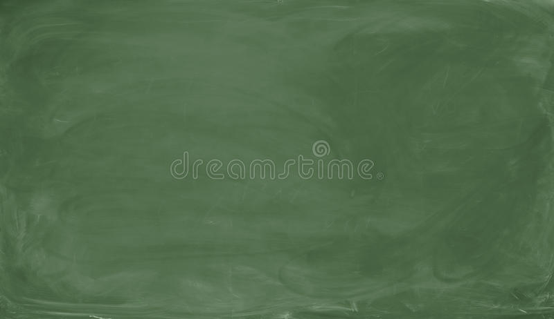 Blank green chalkboard. Background and texture. royalty free stock images