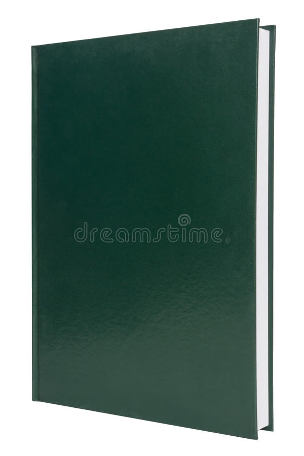 Free Blank Green Hardback Book Cover Stock Photos - 35258233