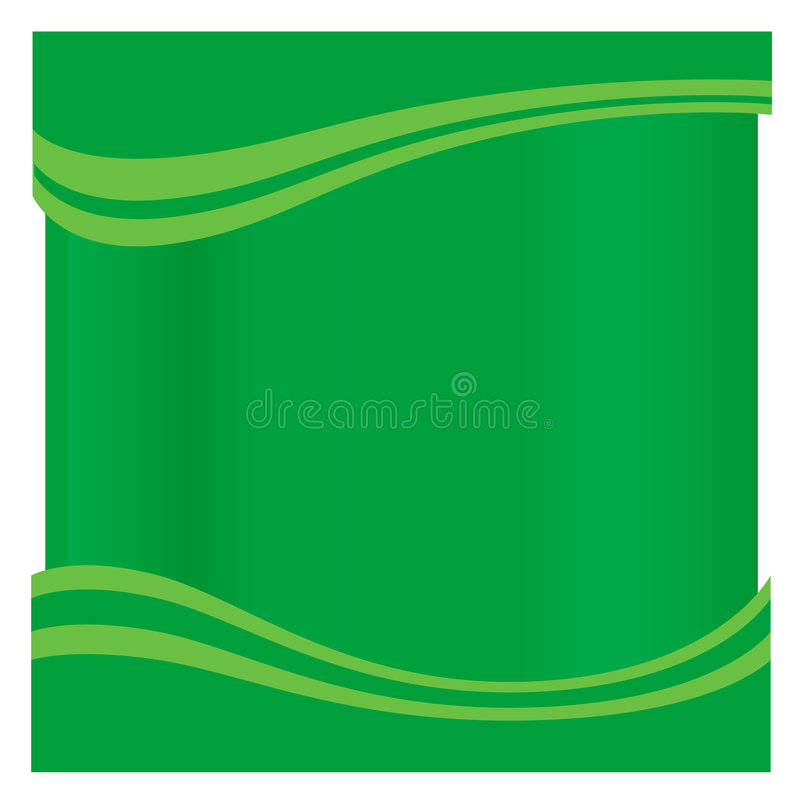 Blank Green Page