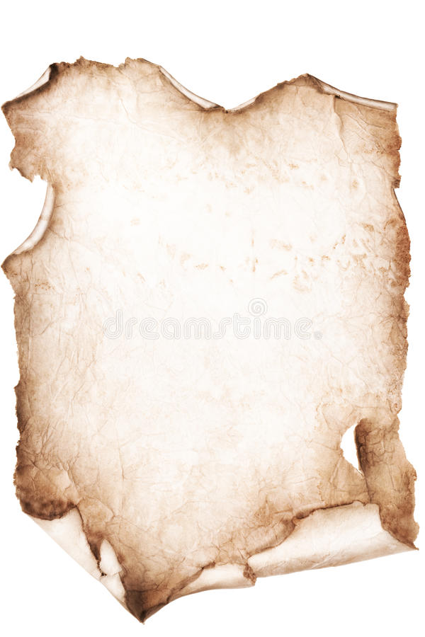 Blank Grungy Canvas Background. Blank Grungy Brown Canvas Background royalty free stock image