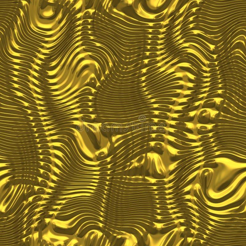 blank guld stock illustrationer
