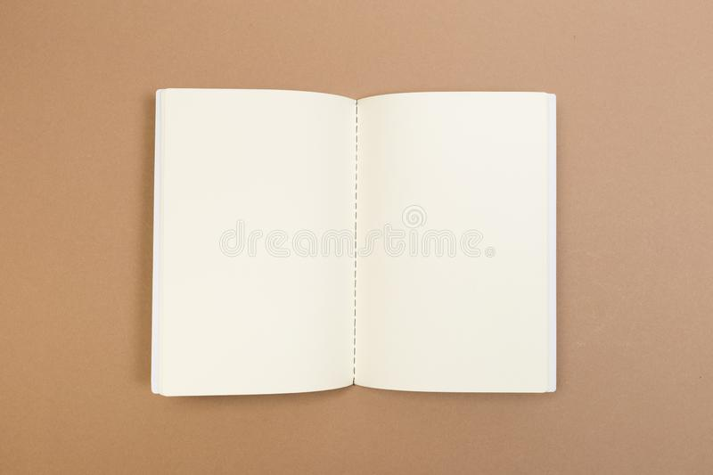 Blank Hard Cover Of Magazine, Book, Booklet, Brochure . Mock Up Template Ready For Your Design royalty free stock photo