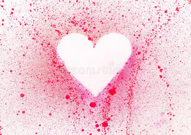 Download Blank heart stock illustration. Image of heart, white - 10777498