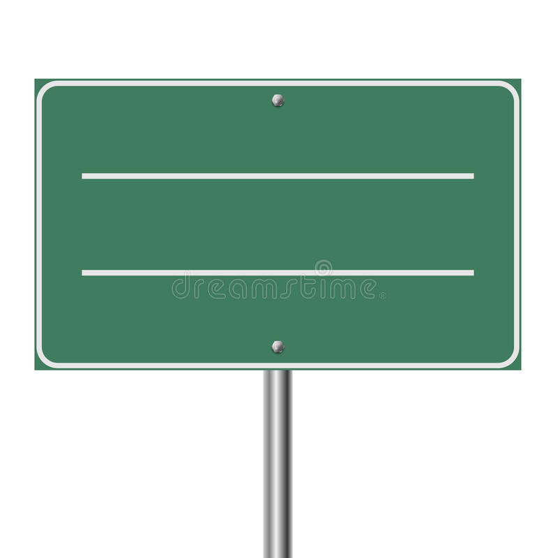 Download Blank highway sign stock photo. Image of direction, place - 37504268