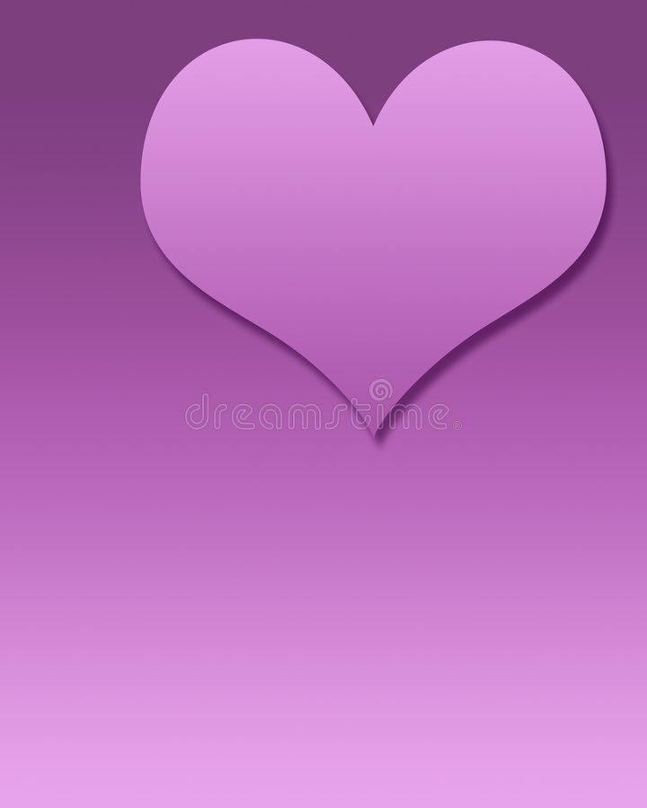 blank hjärtamall stock illustrationer