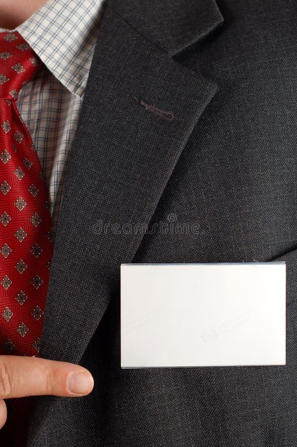 Blank id royalty free stock photos