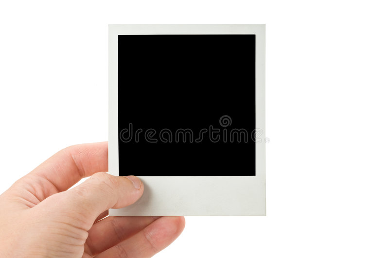 Download Blank instant photo stock photo. Image of paper, vintage - 6082774
