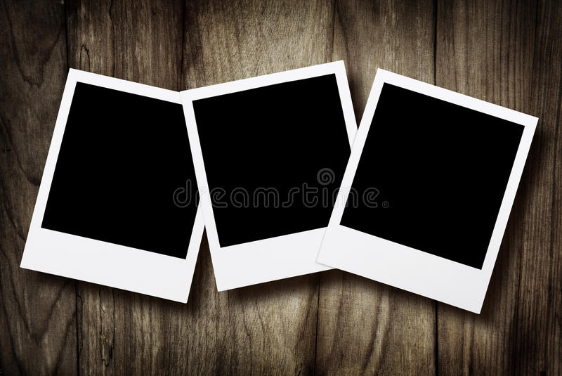 Download Blank instant photos stock image. Image of frame, photography - 15208337