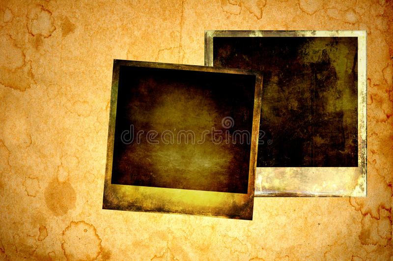 Download Blank instant photos. stock illustration. Image of details - 24981512
