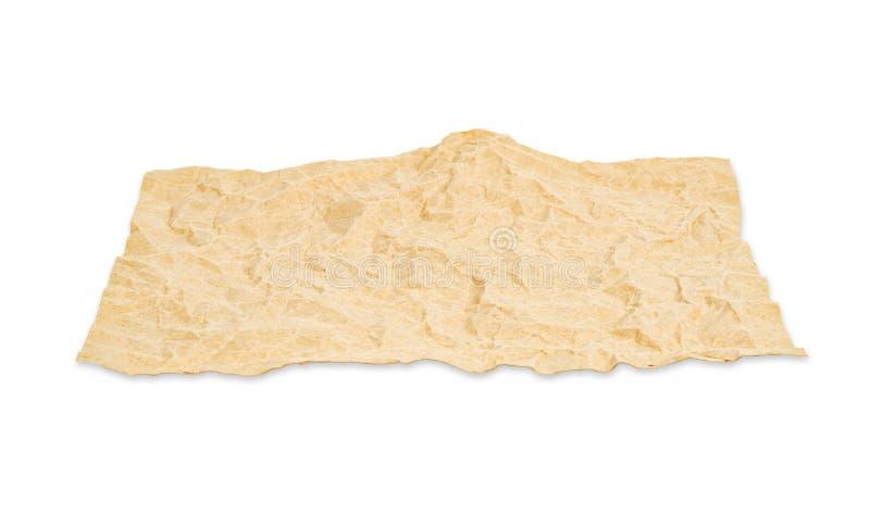 blank isolerat papper återanvänder arkivfoto