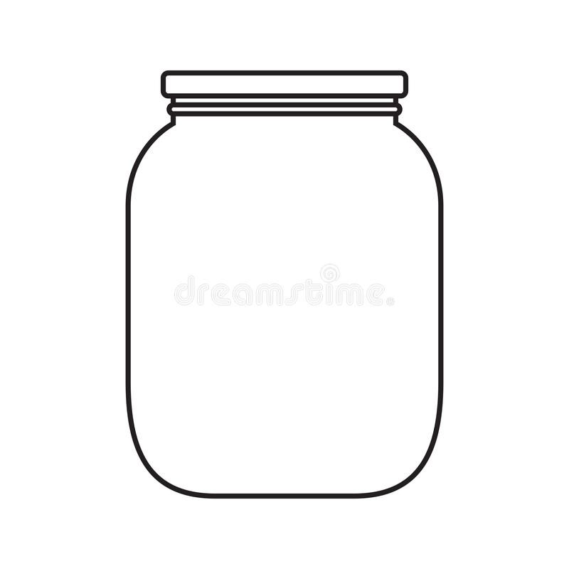 Free Blank Jar With Cap Royalty Free Stock Images - 35835369
