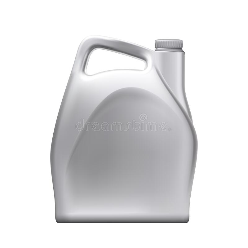 Blank Jerry Can Vector ilustracji