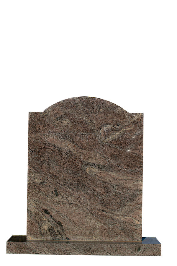 blank klar gravestoneinskrift royaltyfri foto