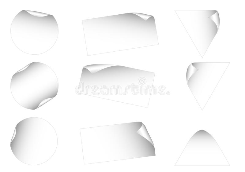 Blank Labels Stock Photos
