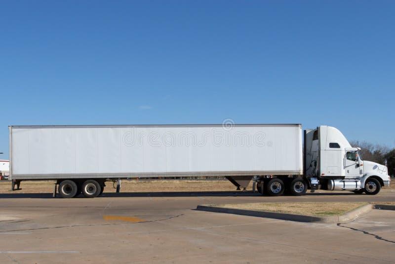 blank lastbil royaltyfria bilder