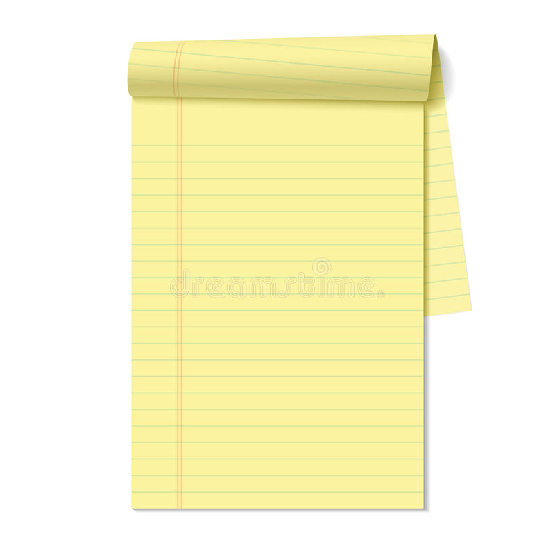Free Blank Legal Pad Stock Photography - 24492642