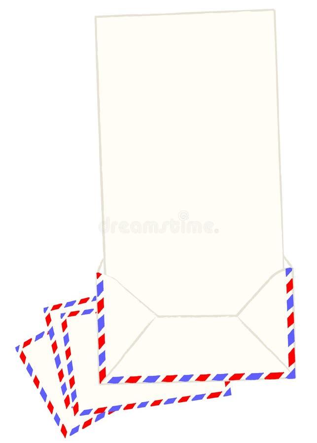 Blank letter vector vector illustration