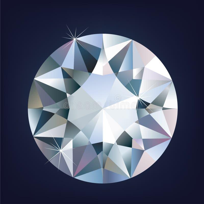 blank ljus diamant vektor illustrationer
