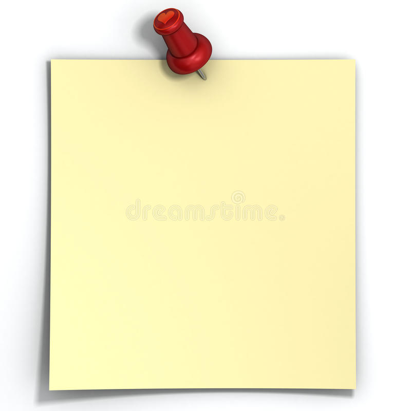 Blank love note paper is pinned by pin with heart