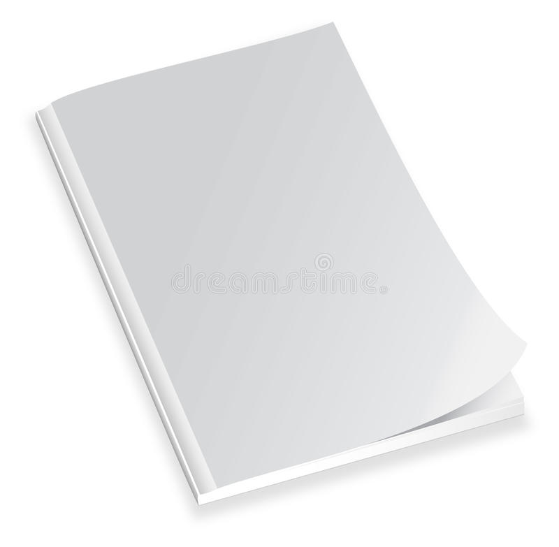 Download Blank magazine cover stock vector. Image of advertise - 18455512