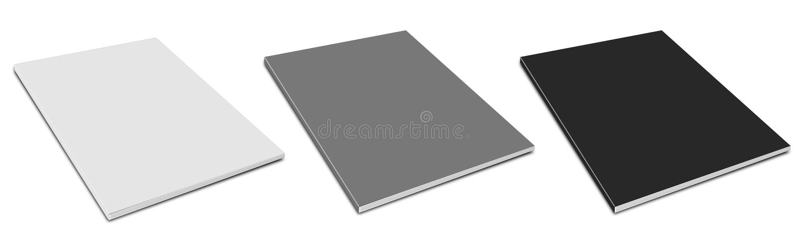 Download Blank  magazine cover. stock illustration. Image of many - 23600681