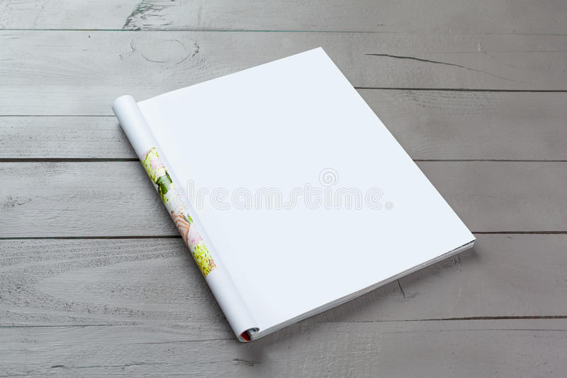 Blank Magazine pages royalty free stock photography