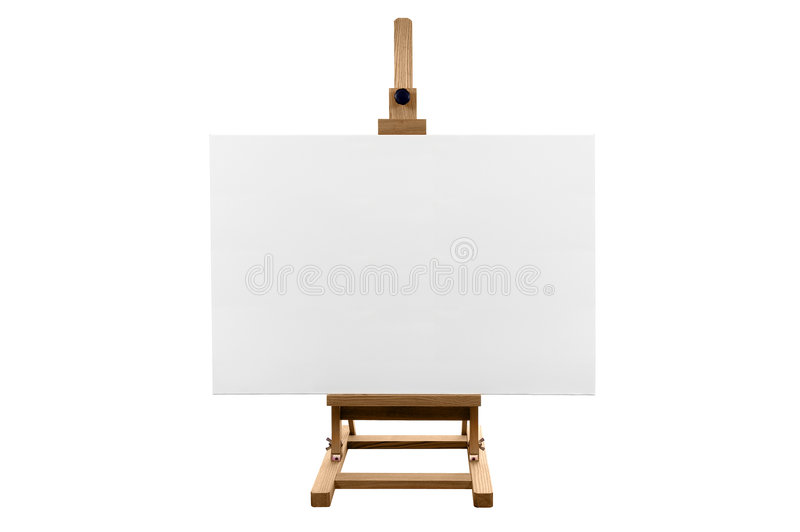 Blank Marketing  Canvas Stock Photography