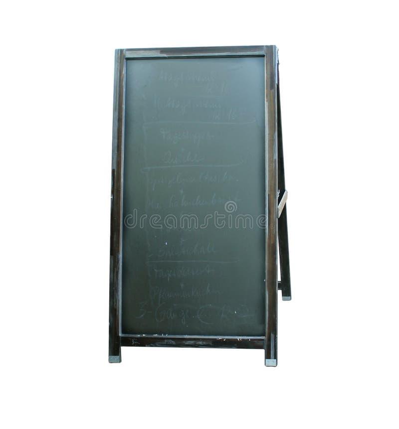 Download Blank menu board stock photo. Image of outside, empty - 19600282