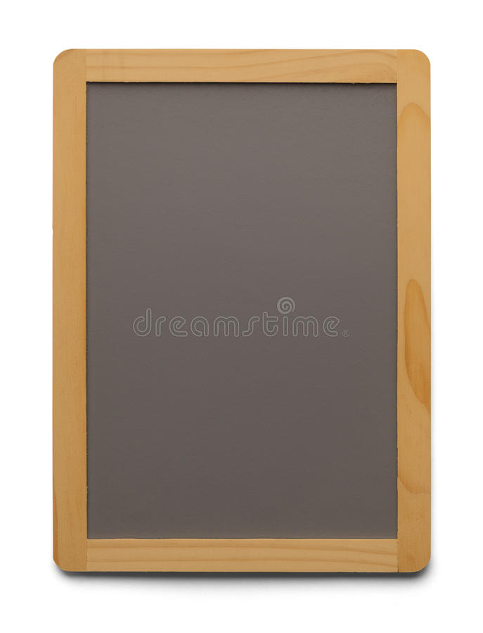 Blank Menu Board stock photo