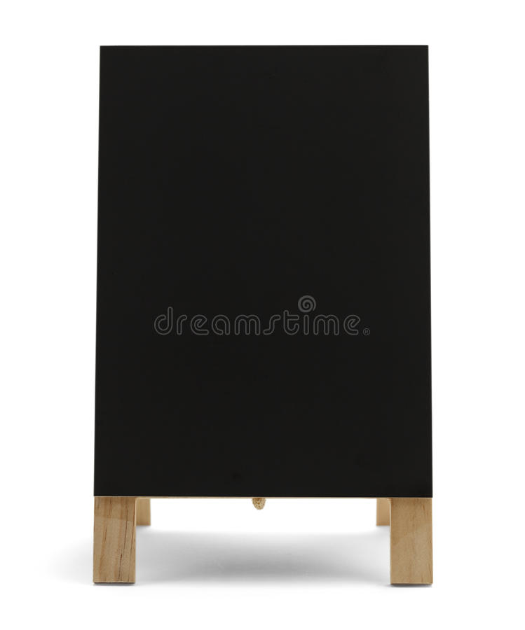 Blank Menu Sign stock photography