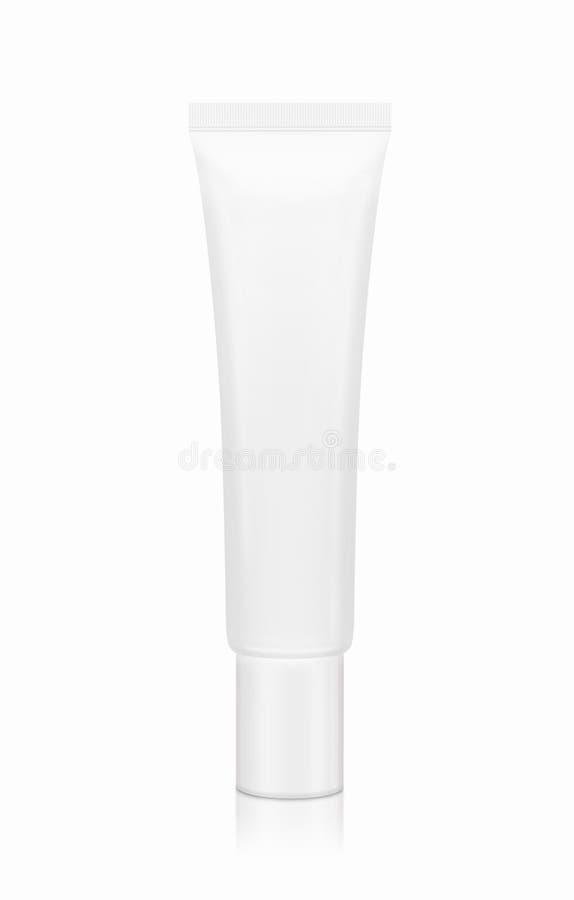 Blank mini tube packaging royalty free stock image