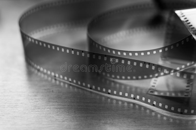 Blank 35mm film royalty free stock photos