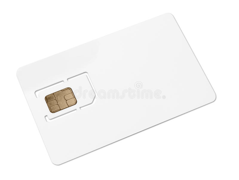 Download Blank mobile sim card stock image. Image of carrier, phone - 14477905