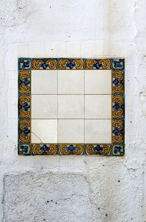 Blank mosaics stock image