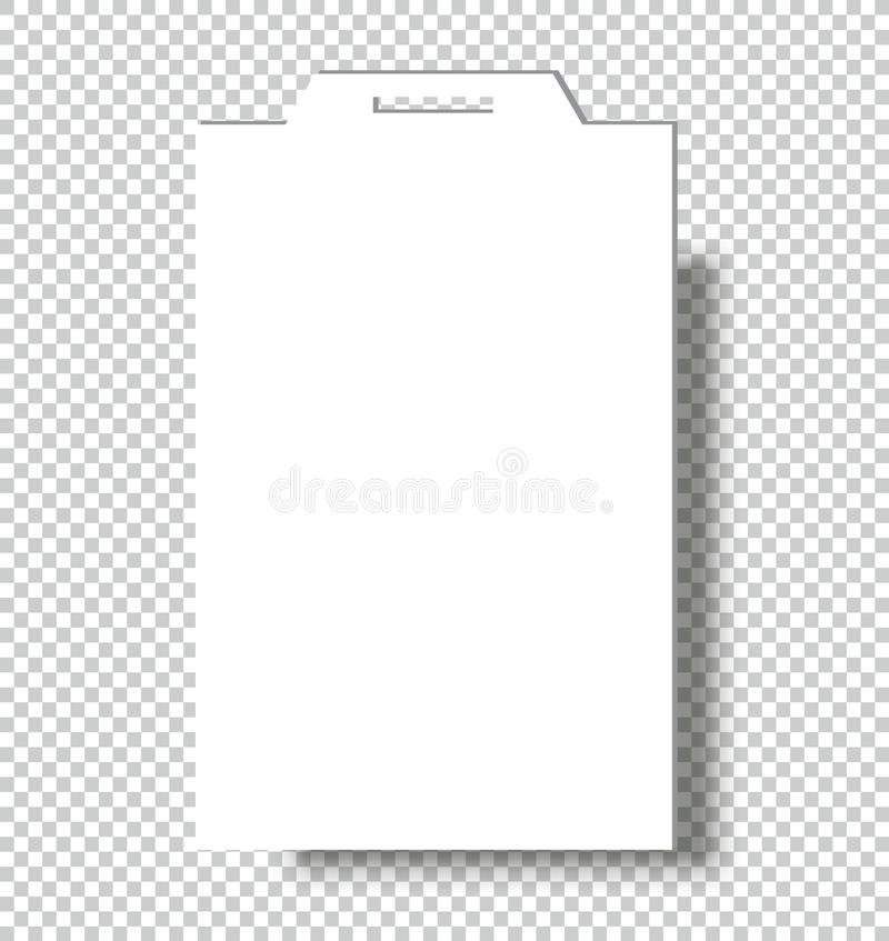 Blank Name Tags Mockup Vector Illustration Of Identity Card Badge - Employee name tags template