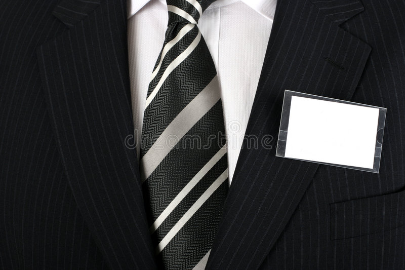 Download Blank nametag stock image. Image of corporate, button - 2219027