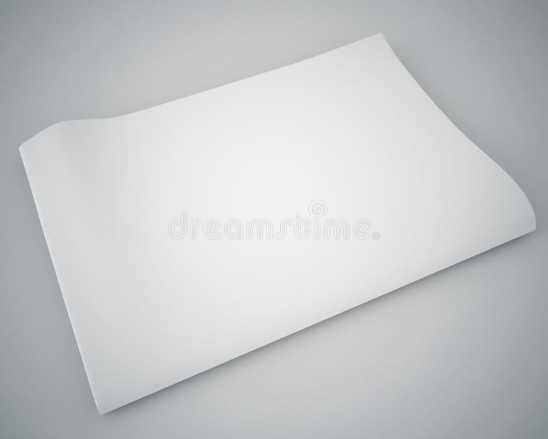 Download Blank newspaper stock illustration. Image of headline - 40403802