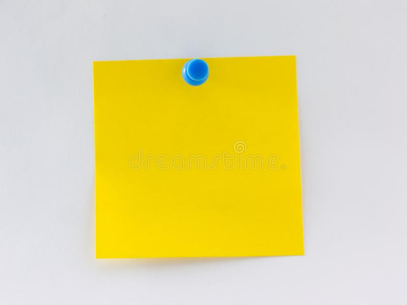 Blank Note stock photos