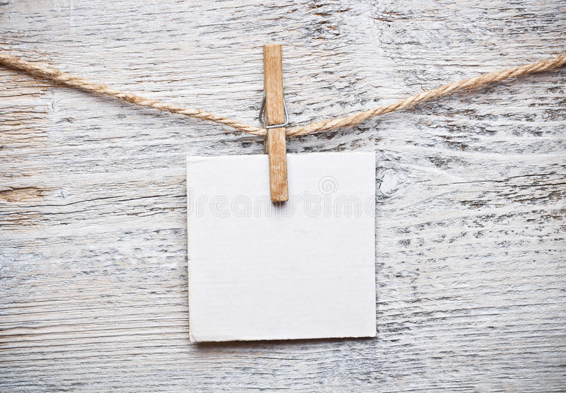 Download Blank note stock image. Image of page, texture, clamp - 26928643