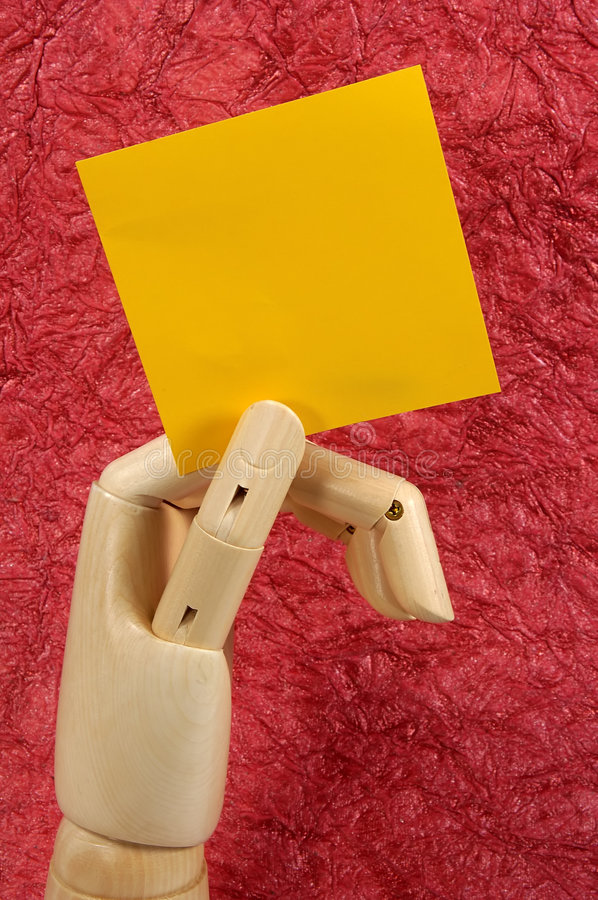 Download Blank Note Royalty Free Stock Photo - Image: 34675